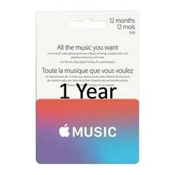 گیفت کارت اپل موزیک 12 ماهه آمریکا