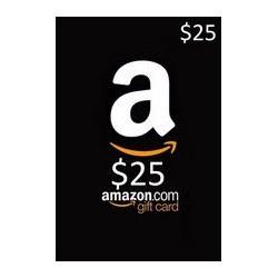گیفت کارت آمازون 25 دلاری آمریکا