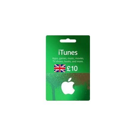 گیفت کارت اپل 10 پوندی انگلیس