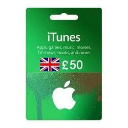 گیفت کارت اپل 50 پوندی انگلیس