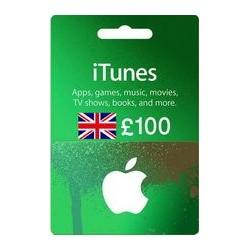 گیفت کارت اپل 100 پوندی انگلیس