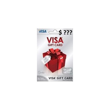 گیفت کارت ویزا به مبلغ دلخواه امریکا