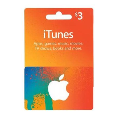 خرید گیفت کارت 3 دلاری اپل آمریکا