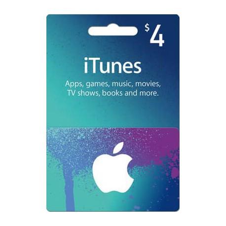 خرید گیفت کارت 4 دلاری اپل آمریکا