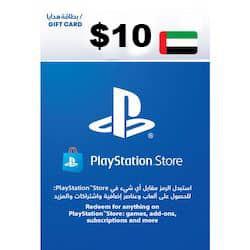 گیفت کارت پلی استیشن نتورک 10 دلاری امارات