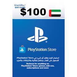 گیفت کارت پلی استیشن نتورک 100 دلاری امارات