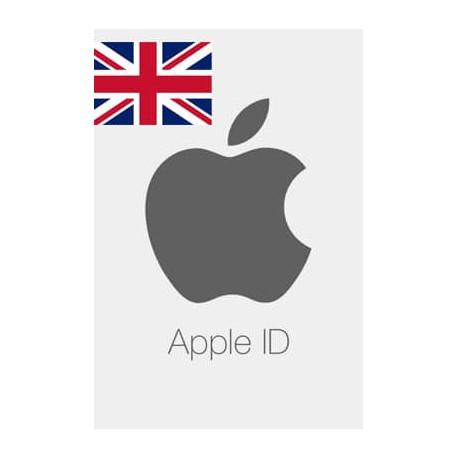خرید اپل آیدی انگلیس Verify