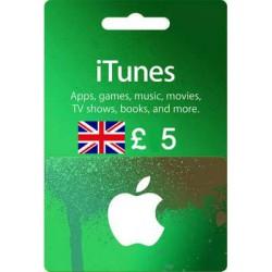 گیفت کارت اپل 5 پوندی انگلیس
