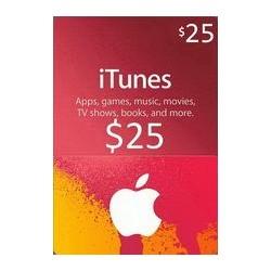 گیفت کارت اپل  25 دلاری آمریکا