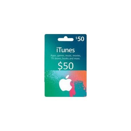 گیفت کارت اپل  50 دلاری آمریکا