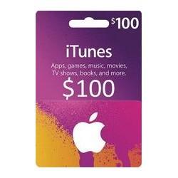 گیفت کارت اپل  100 دلاری آمریکا
