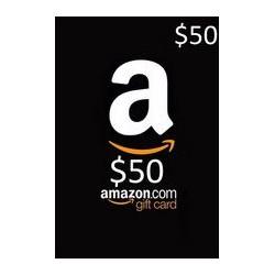 گیفت کارت آمازون 50 دلاری آمریکا