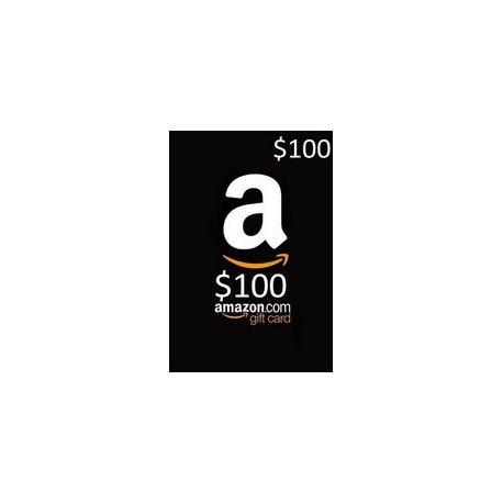 گیفت کارت آمازون 100 دلاری آمریکا